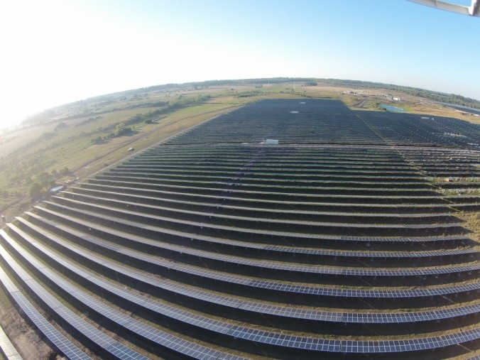 "Montaje Eléctrico de la planta fotovoltaica ""La Jacinta"""
