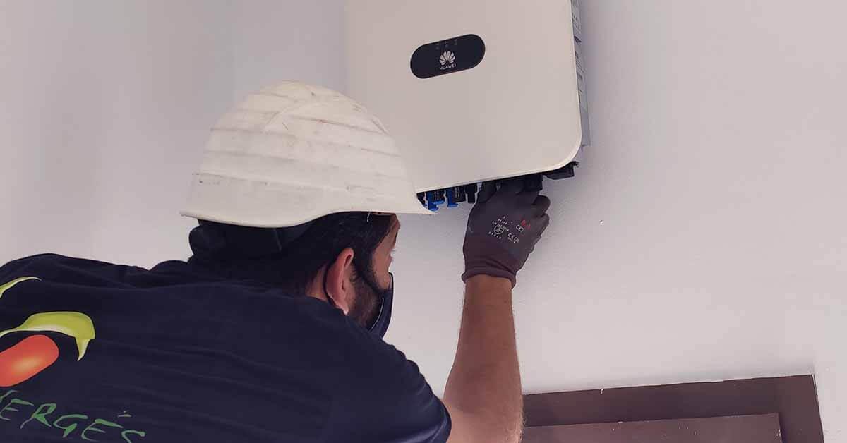 mantenimiento inversor placas solares